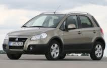 Fiat Sedici mini SUV family car or similar