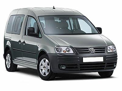 VW Caddy|1400|airco|mamualmusic| transm|4doors| 7seater or similar
