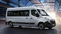 Mini bus transfer hotel airport port