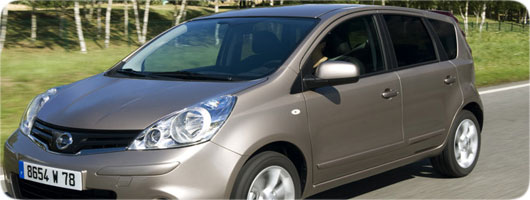 Nissan Note new offer for Crete