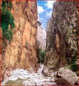 Samaria Gorge sightseeing walk of 17km distance